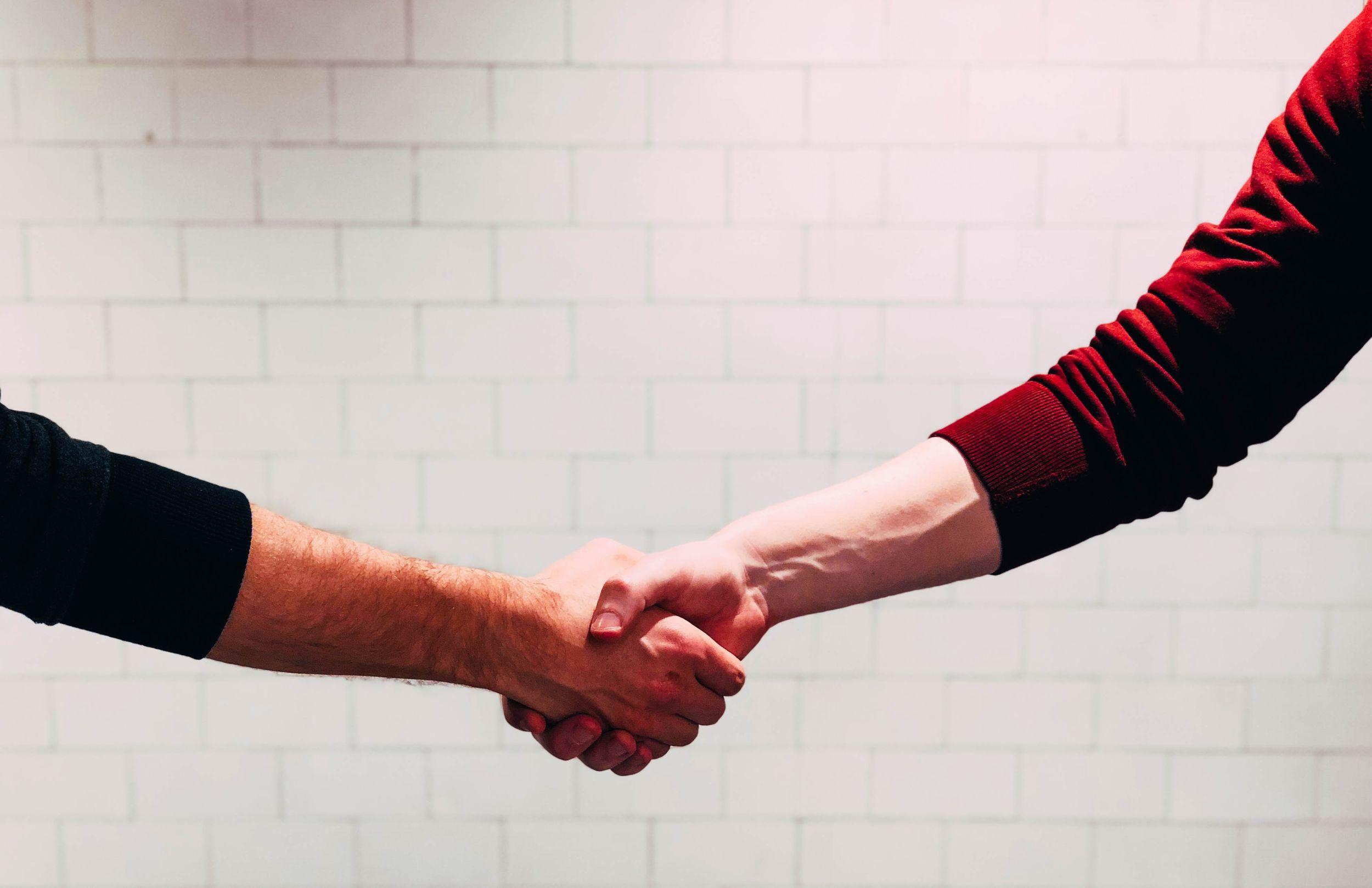 Handshake = Customer Service